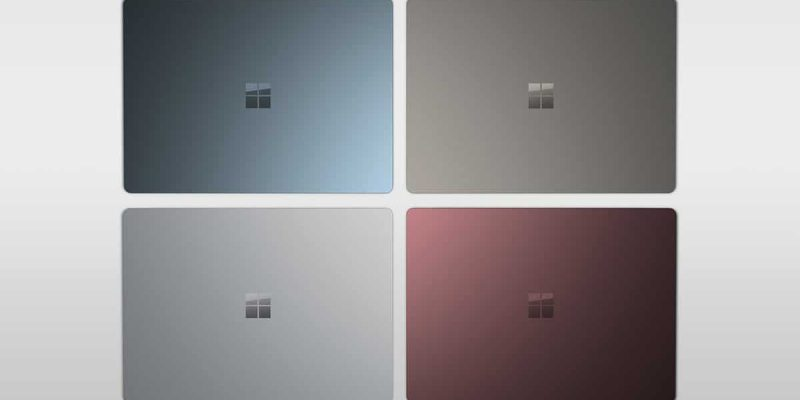 Microsoft Surface Laptop nu te bestellen in België